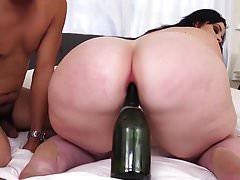 big booty bbw babe  loves anal sex