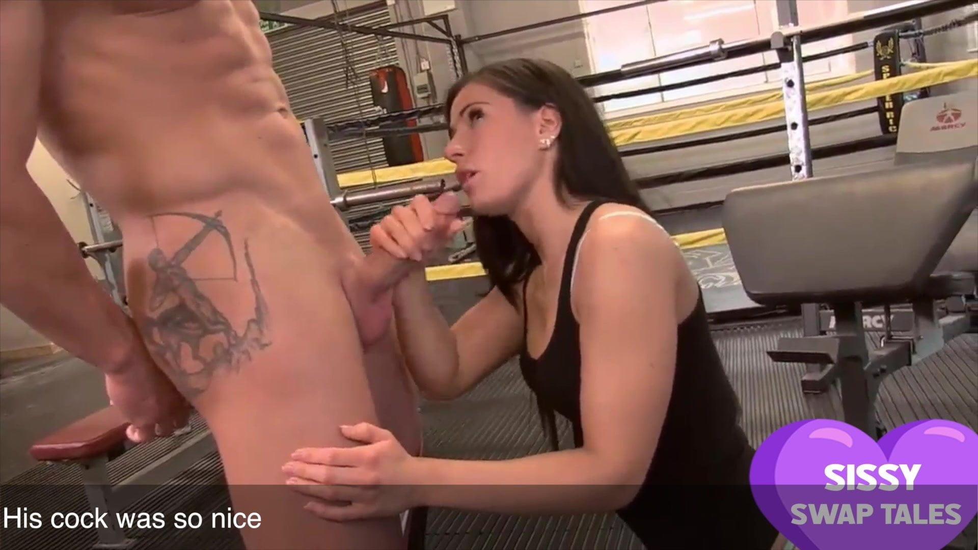 Drilled lingerie facial sensual