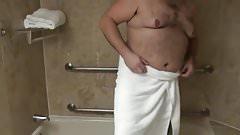 Two Bears in shower