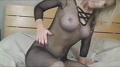 Busty Blonde Fucks Her Ass
