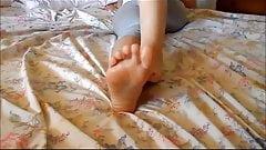 nice Girlfriend's feet and soles