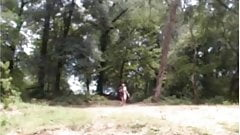 Curvy teen Camila in The Forest - negrofloripa