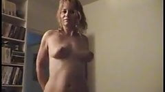 Saggy wife bouncing tits