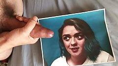 Maisie Williams cum tribute 21