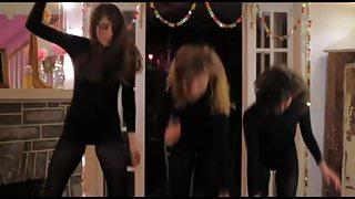 black leotard and tights 2
