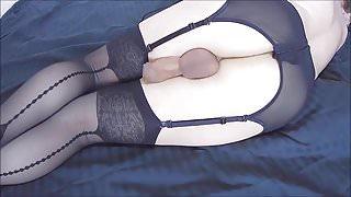 Black Garter Long