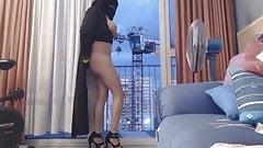 Arab Niqab  Exhibitionist