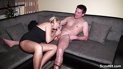 Ehemann erwischt Frau mit Nach