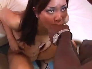 Hot Asian Girl fuck Biggest Black Cock