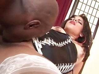Big Booty Ebony Working A Big Black Cock