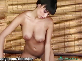 Preview 3 of NuruMassage busty Anissa Kate's French massage