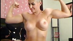Pregnant woman show pussy