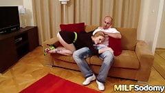 Blonde MILF Tarra White super hot anal