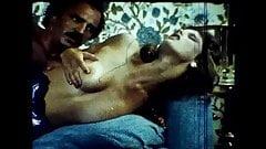 1970's Vintage Loop Sasha Gabor and Hot Blonde's Thumb