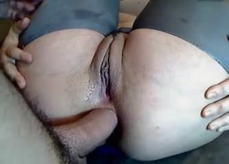Sexy Blonde Squirts and Throws a Huge Dildo in Her Ass