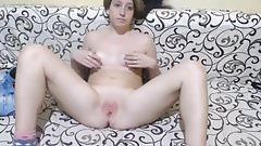 Young girl small tits great pussy