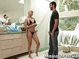 Cute ebony Aaliyah Hadid needsLogan Long's big hard cock