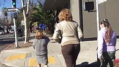 Tall Blonde MILF (lunch break walk)