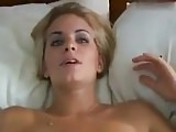 She takes the phone to her boyfriend while another man fucks