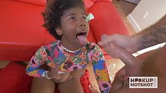 Sexy Black Teen Fucked Rough on Hookup it`s very HOT sit`s very HOT