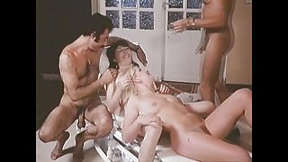MMFFMIKE: Blindfold fun foursome