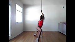 Rasta Girl Sexy Pole Dance - Ameman