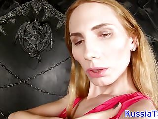 Asshole pleasures her russian ts beauty All
