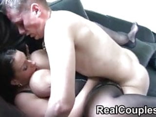 Busty plumper does anal