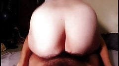 Hairy amateur wife missionary then grinds bid ass