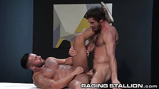 Bruno Bernal Takes it After Throating Cock