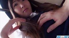 Curvy ass Haruka Ohsawa loves fucking in doggy