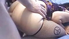 BBW Ass get fucked and finish deep in her mouth