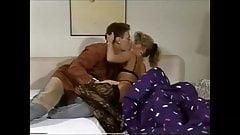 He brings his blonde stephmom in stockings breakfast