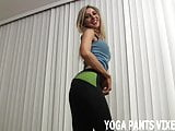 I know how good I look in tight yoga pants JOI