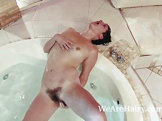 Tatiana Enjoys The Bath Followed By Masturbating