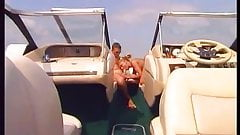 French blonde Blowjob on Boat