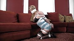 Carissa montgomery going from couch to floor