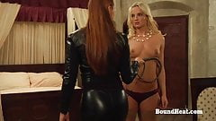 The Education of Erica: Two Beautiful Lesbian Slaves Whipped