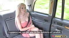 Fake Taxi it`s very HOT  blonde fucks new cabbie