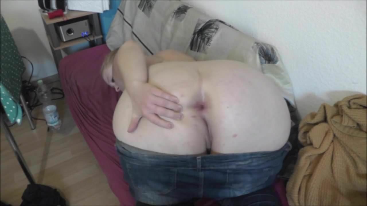 fette sau nackt