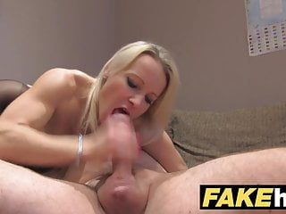 Preview 6 of Fake Agent UK Cute horny MILF with shaven pussy fucking