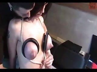 More Milking, Big Tits and Huge Nipples Squeezed Till Dry