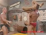 Wrestlehard gay orgy humiliation wrestling