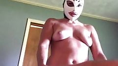Amateur Latex Mask Pegging