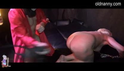 Granny SM,BDSM and Granny pumped pussy -