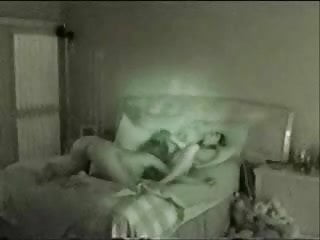 Two Lesbians Are Taped On Hidden Cam