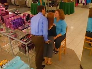 22 Store manager sales girl and fucks her in gdwon