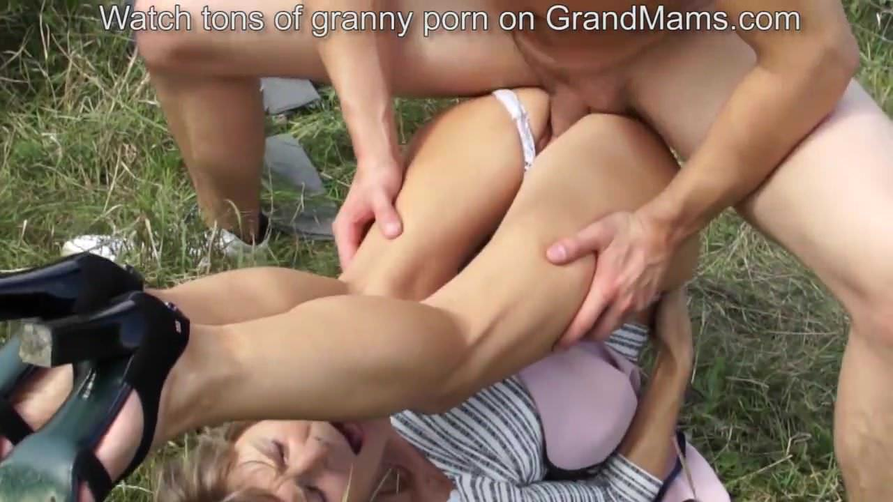 Old But Fit Granny Begging For A Hardcore Fuck And Gets-3664