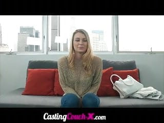 CastingCouchX Amazing Natural Boobs Fucked