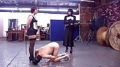 2 amantes caña esclava desobediente